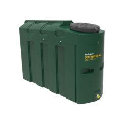 Harlequin 1000 Litres Slimline Plastic Bunded Oil Tank
