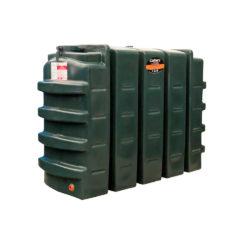 Carbery 1100 Litre Slimline Plastic Single Skin Oil Tank