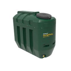 Harlequin 1100 Litre Slimline Plastic Bunded Oil Tank