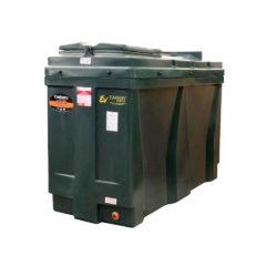 Carbery 1100 Litre Slimline Plastic Bunded Oil Tank