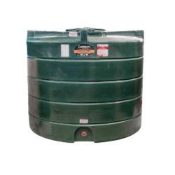 Carbery 2500 Litre Plastic Single Skin Oil Tank