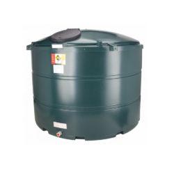 Atlantis 3500 Litre Vertical Plastic Bunded Oil Tank