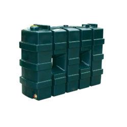 Titan 1000 Litre Slimline Plastic Single Skin Oil Tank