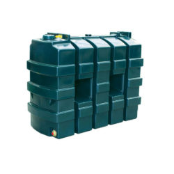 Titan 1225 Litre Slimline Plastic Single Skin Oil Tank