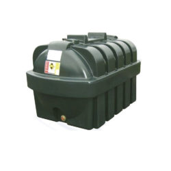 Atlantis 1300 Litre Plastic Single Skin Oil Tank
