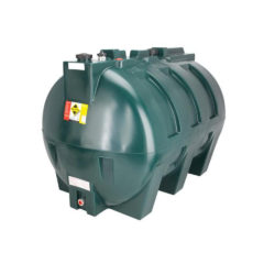 Atlantis 2500 Litre Plastic Single Skin Oil Tank