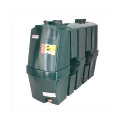 Deso 1200 Litre Single Skin Slimline Oil Tank
